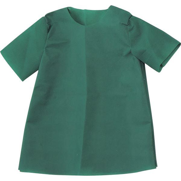 (まとめ)アーテック 衣装ベース 【S シャツ】 不織布 グリーン(緑) 【×30セット】