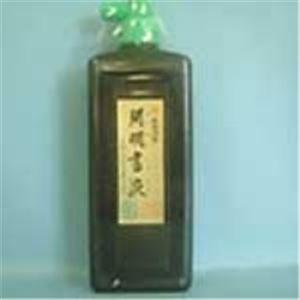 (業務用100セット) 開明 書液 SY5084 450ml 横口