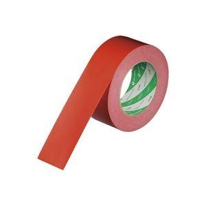 (業務用100セット) ニチバン ハイクラフトテープ 320WC-50 50mm×50m 赤