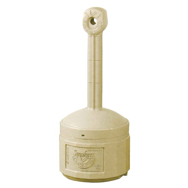 シースファイア スタンド灰皿 直径420mmx高さ980mm J26800B ベージュ 〔業務用/家庭用/屋外/ガーデン/庭〕