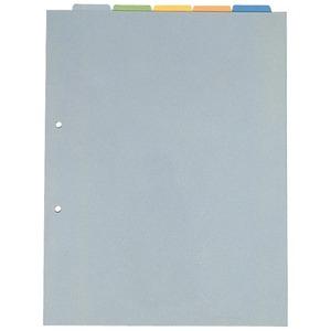 (業務用100セット) キングジム カバー付カラーインデックス A4S 103T