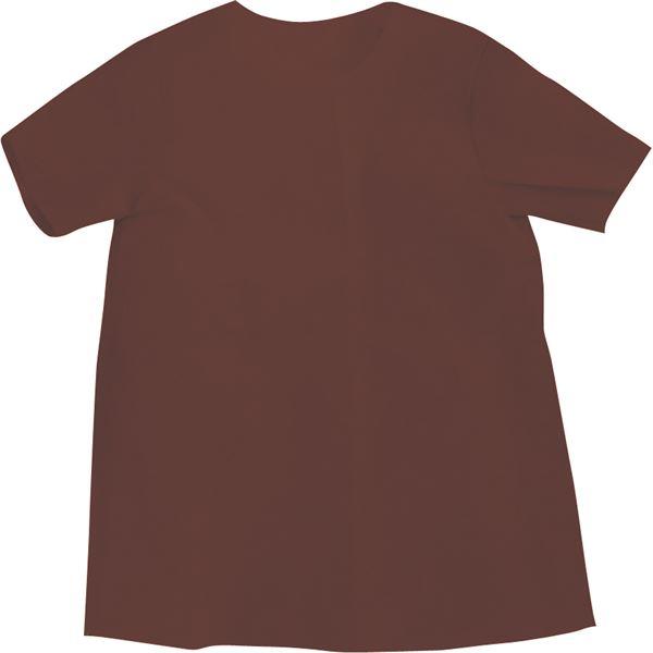 (まとめ)アーテック 衣装ベース 【S シャツ】 不織布 ブラウン(茶) 【×30セット】