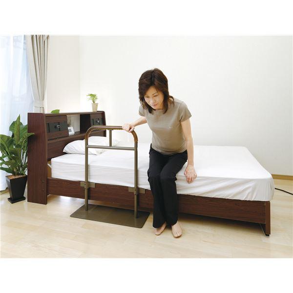 リッチェル ベッド関連用品 ベッド用手すり しんすけST 48140