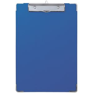 (まとめ) セキセイ カラー用箋挟 A4タテ Y-56C-10ブルー 1枚 【×15セット】