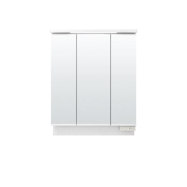 LIXIL INAX (リクシル イナックス) K1シリーズ ミラーキャビネット三面鏡全収納タイプ (LED) MK1X2-753TXJU