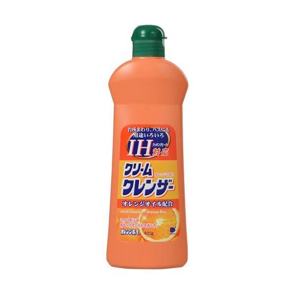 オレンジボーイIH対応クリームクレンザー400g 【(24本×10ケース)合計240本セット】 30-661