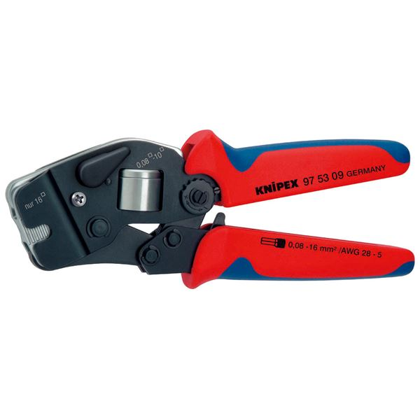 KNIPEX(クニペックス)9753-09 ワイヤーエンドスリーブ圧着ペンチ (SB)
