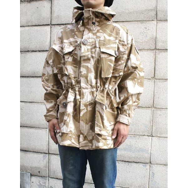 イギリス軍 放出 デザートDP Mコマンドスモック JP056NN 170-88サイズ 【 デットストック 】 【 未使用 】