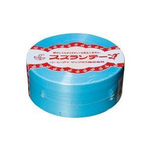 (業務用100セット) CIサンプラス スズランテープ/荷造りひも 【空色/470m】 24203104
