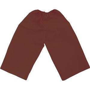 (まとめ)アーテック 衣装ベース 【J ズボン】 不織布 ブラウン(茶) 【×30セット】