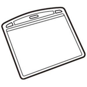 (業務用50セット) ジョインテックス 名札用替ケース パス特大横10枚 B075J