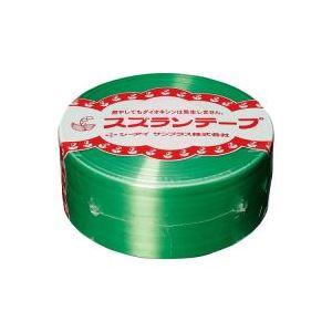 (業務用100セット) CIサンプラス スズランテープ/荷造りひも 【緑/470m】 24202012