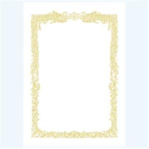 (業務用100セット) タカ印 賞状用紙 10-1061 A4 横書 10枚