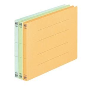 (業務用50セット) プラス フラットファイル/紙バインダー 【B5/2穴 10冊入り】 ヨコ型 032N ブルー(青) ×50セット