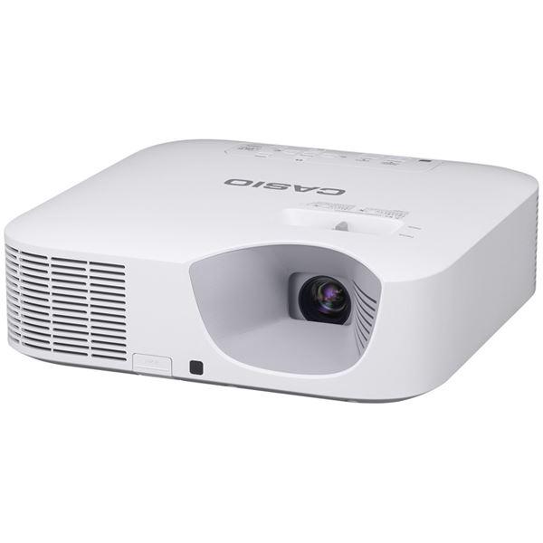 カシオ計算機 レーザー&LEDハイブリッド光源プロジェクター XGA 3300lm USB/無線 XJ-F20XN