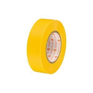 (業務用300セット) ヤマト ビニールテープ/粘着テープ 【19mm×10m/黄】 NO200-19