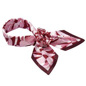 (まとめ) ナカヒロ コサージュスカーフ ピンク A1920-38 1枚 【×2セット】