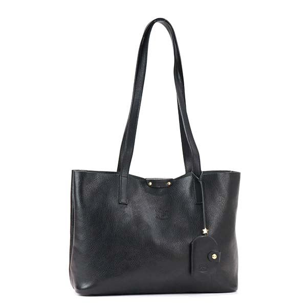 IL BISONTE(イルビゾンテ) トートバッグ A2624 153 BLACK