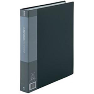 (業務用5セット) ジョインテックス クリアファイル/ポケットファイル 【A4/タテ型 10冊入り】 60ポケット 灰 D049J-10GY