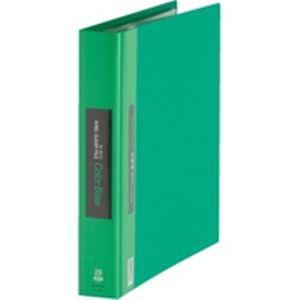 (業務用30セット) キングジム クリアファイル/ポケットファイル 【A4/タテ型】 20ポケット 139-3 グリーン(緑)