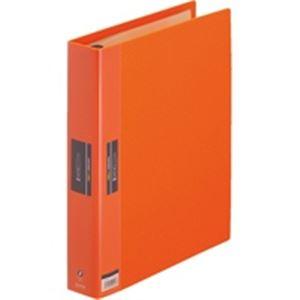 (業務用30セット) キングジム ヒクタス クリアファイル/バインダータイプ 【A4/タテ型】 7139-3 オレンジ(橙)