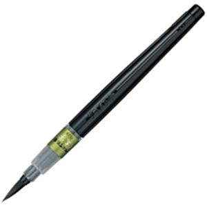 (業務用100セット) ぺんてる 筆ペン XFL2V すき穂