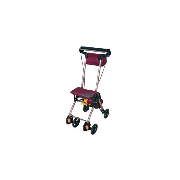 幸和製作所 シルバーカー テイコブナノンDX CPS02(2)ワインレッド CPS02