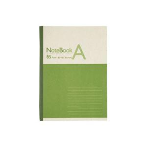 (業務用500セット) ジョインテックス 再生紙ノート セミB5 A罫1冊 P041J