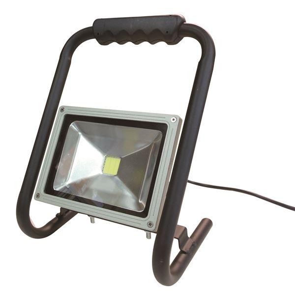 (業務用5個セット) trad LED投光器 防水/屋外用/省エネ/長寿命 SLW-20W AC100