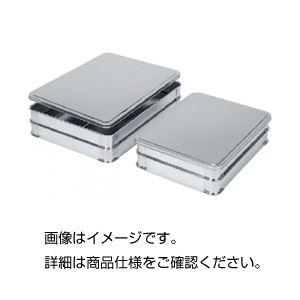 (まとめ)ステンレス積重ねバットバット小【×3セット】