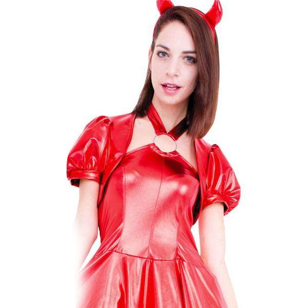 コスプレ衣装/コスチューム 【Red Devil レッドデビル】 ポリエステル 『CLUB QUEEN』 〔ハロウィン イベント〕