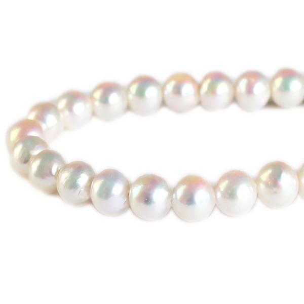 真珠 ネックレス あこや 本真珠 9mm珠 ピアス 冠婚葬祭 母の日【代引不可】