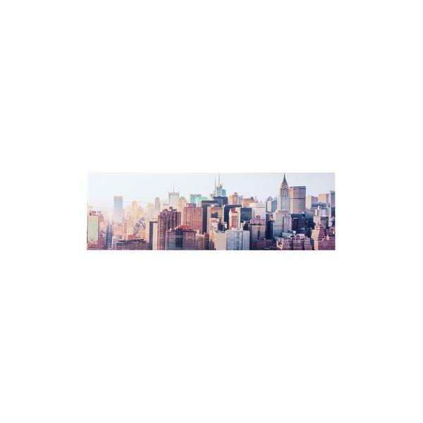 モダン アートパネル/インテリア用品 【ART-122D】 幅140×奥行2.5×高さ45cm 天然木 キャンバス 〔部屋 内装 リビング〕