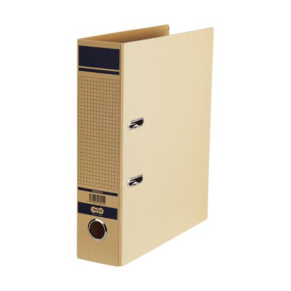 TANOSEE保存用レバー式アーチファイル A4タテ 背幅77mm 青 1セット(24冊)