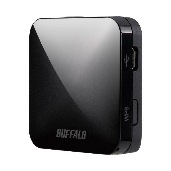 (まとめ)BUFFALO 無線LANルータWMR-433W2-BK(×2セット)