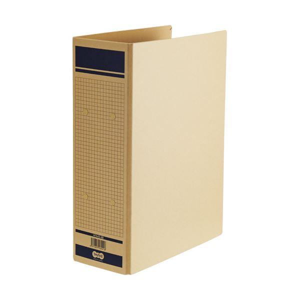 TANOSEE 保存用ファイル(片開き)A4タテ 800枚収容 80mmとじ 青 1セット(24冊)
