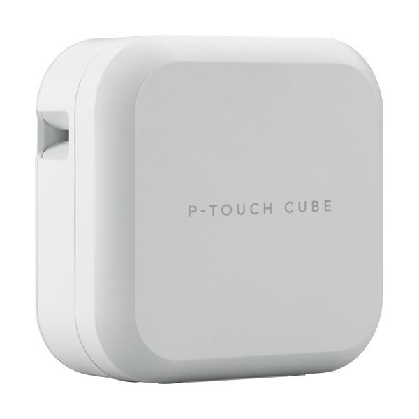 スマートフォンで、気軽にラベル作成! ブラザー ピータッチ キューブPT-P710BT 1台