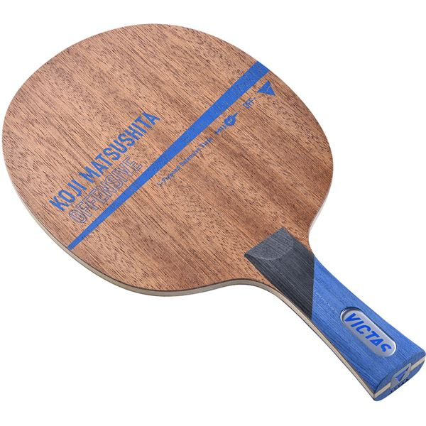 VICTAS(ヴィクタス) 卓球ラケット VICTAS KOJI MATSUSHITA OFFENSIVE FL 28104