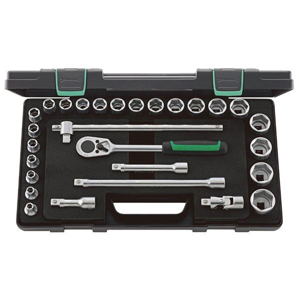 【即出荷】 STAHLWILLE(スタビレー) 52/22/6KN (1/2SQ)ソケットレンチセット (96031409):アスリートトライブ-DIY・工具