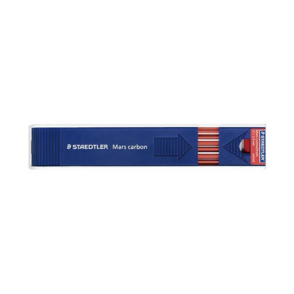 (まとめ)ステッドラー マルス ルモクローム色芯 204-2 赤【×30セット】