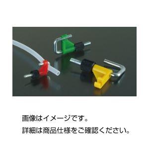 (まとめ)チューブクランプ OB1910(赤) 入数:2【×30セット】