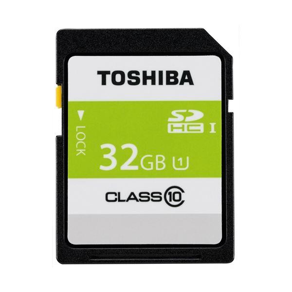 (まとめ) 東芝 SDHCメモリカード 32GB SDAR40N32G【×5セット】