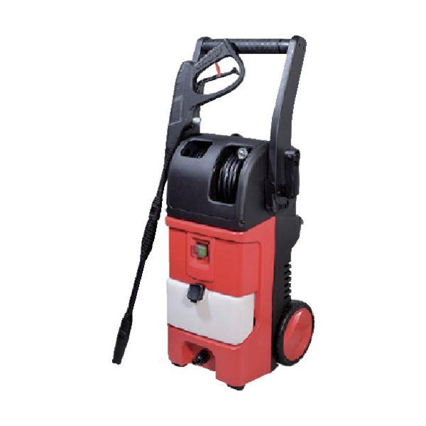 洗浄作業を簡単にする強力パワー、噴射角度も簡単に操作できます。 日動工業 高圧洗浄機 ジェットクリーナーリール付 NJC120-R-10M 1台