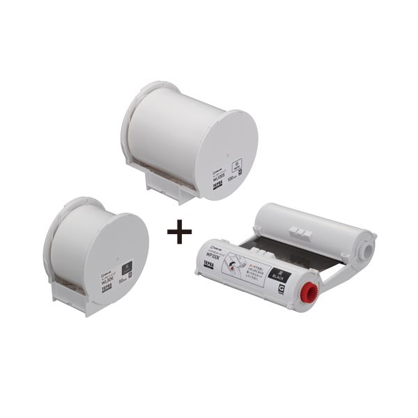 キングジム テプラGrand用テープ&インクリボンセット WLP-THS 1セット