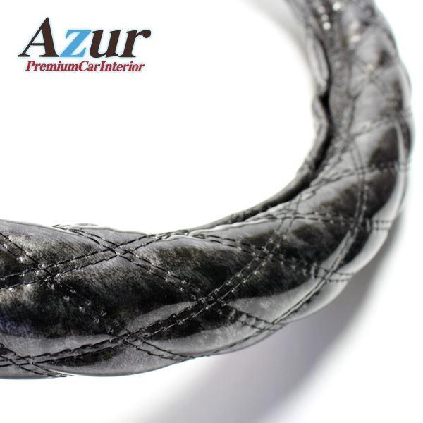 Azur ハンドルカバー セレナ ステアリングカバー 木目ブラック M(外径約38-39cm) XS57A24A-M