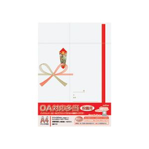 (まとめ) オキナ OA対応多当 祝儀用 A4T21 1パック(5枚) 【×30セット】