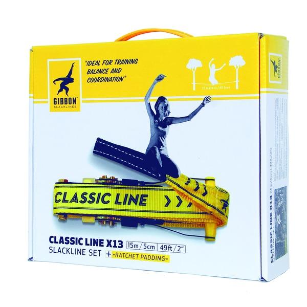 【GIBBON】 スラックライン/Slack line 【Classic Line X13 15m】 定番 スタンダードモデル