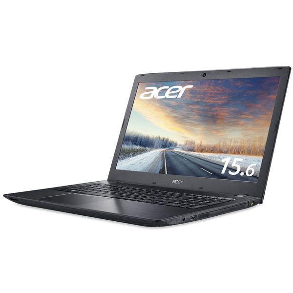 Acer TMP259G2M-F78UBL6 (Core i7-7500U/8GB/256GBSSD+500GB HDD/DVD+/-RW/15.6型/フルHD/Windows 10 Pro64bit/1年保証/ブラック/Office Personal 2016)