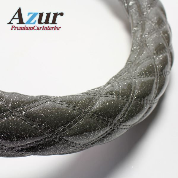 Azur ハンドルカバー 大型プロフィア(H4.7-H15.10) ステアリングカバー ラメシルバー 2HL(外径約47-48cm) XS55H24A-2HL