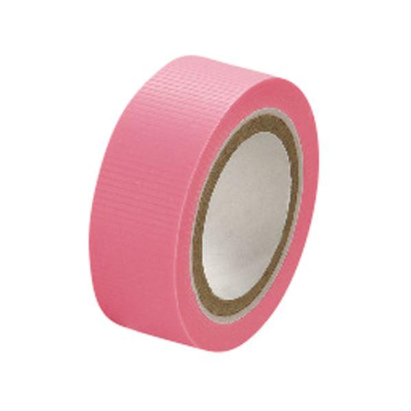 (まとめ)セキスイ スマートカットテープミニ 15mm×4.5m ピンク【×50セット】